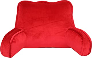 Brentwood Originals 2136 Plush Bed Rest, Chili Red,