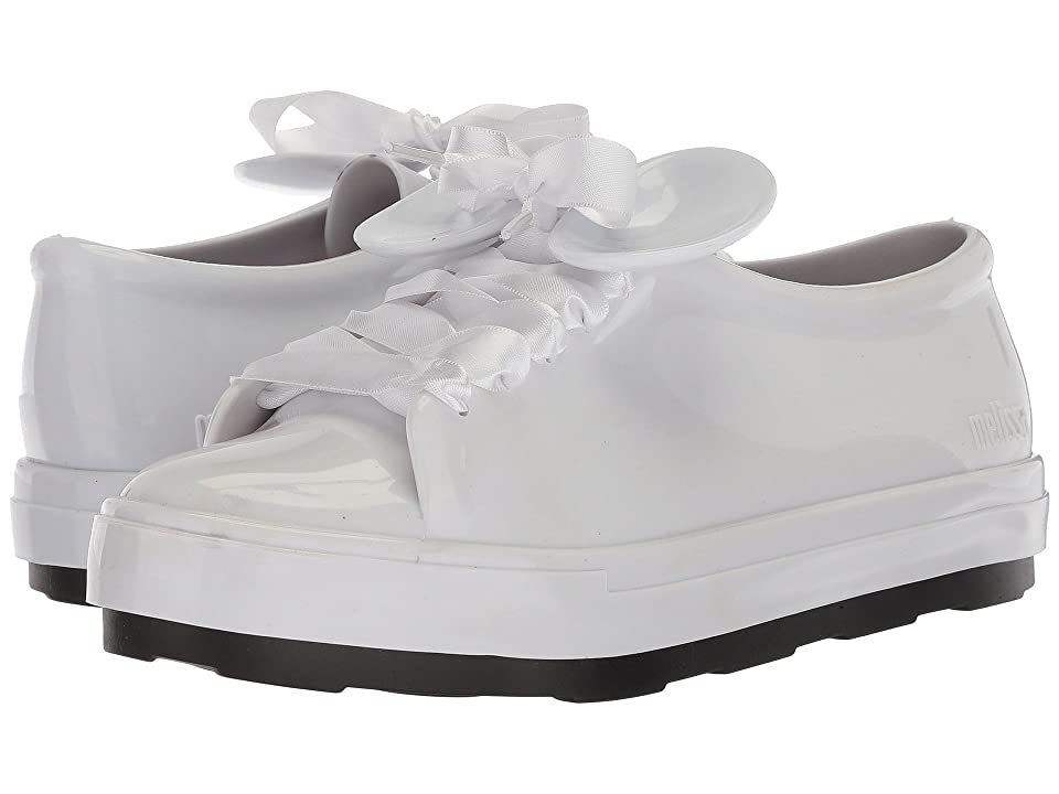 Melissa Shoes Be + Disney (White/Black) Women