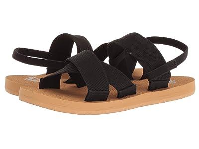 Roxy Kids Cove (Little Kid/Big Kid) (Black) Girls Shoes