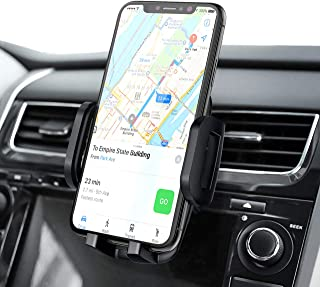 Mpow Car Vent Mount, Car Phone Mount for Air Vent, 3-Level Adjustable Vent Phone Holder, One Button Release AC Vent Mount, Rotatable Vent Mount Compatible Mobile Phones Up to 6.8 Inches