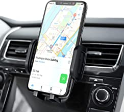 Mpow Car Phone Holder, Air Vent Phone Mount with 3-Level Adjustable Clamp 360° Rotation In Car Mount for iPhone11Pro/11/XS Max/XS/Xr/x/8S/8/7/6 Plus, Galaxy S10/S9/S8, P20, LG, HTC & Smartphones