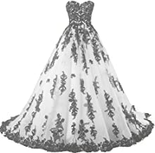 Amazon Com Black And White Ball Gown