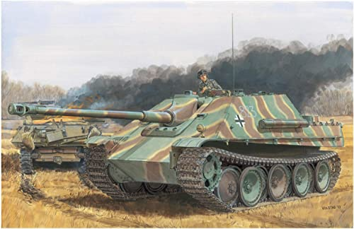 Dragon Maquette Char SD.kfz.173 Jagdpanther Ausf.g1 Late   Ausf.g2 2 in 1