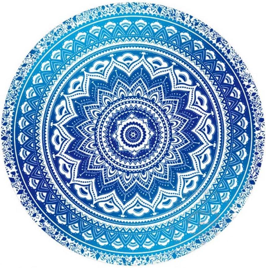 Espeedy Mandala Round Tapestry Summer Beach Picnic Throw Rug Blanket Bohemia Mats Amazon Co Uk Sports Outdoors