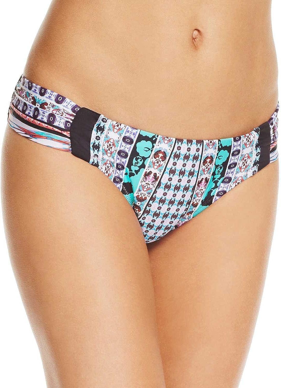 Nanette Lepore Women's Standard Side Shirred Hipster Bikini Swimsuit Bottom
