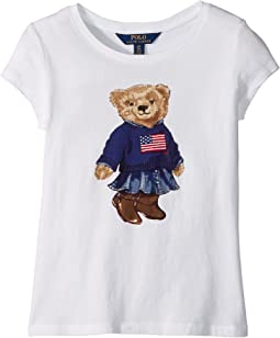 Polo Ralph Lauren Kids - Polo Bear Jersey Tee (Little Kids/Big Kids)