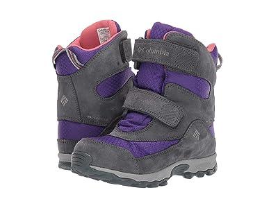 Columbia Kids Parkers Peaktm Boot (Little Kid/Big Kid) (Emporer/Wild Salmon) Girls Shoes
