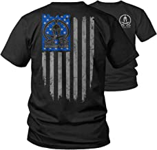 Armed American Supply Molon Labe Ghost Flag T-Shirt