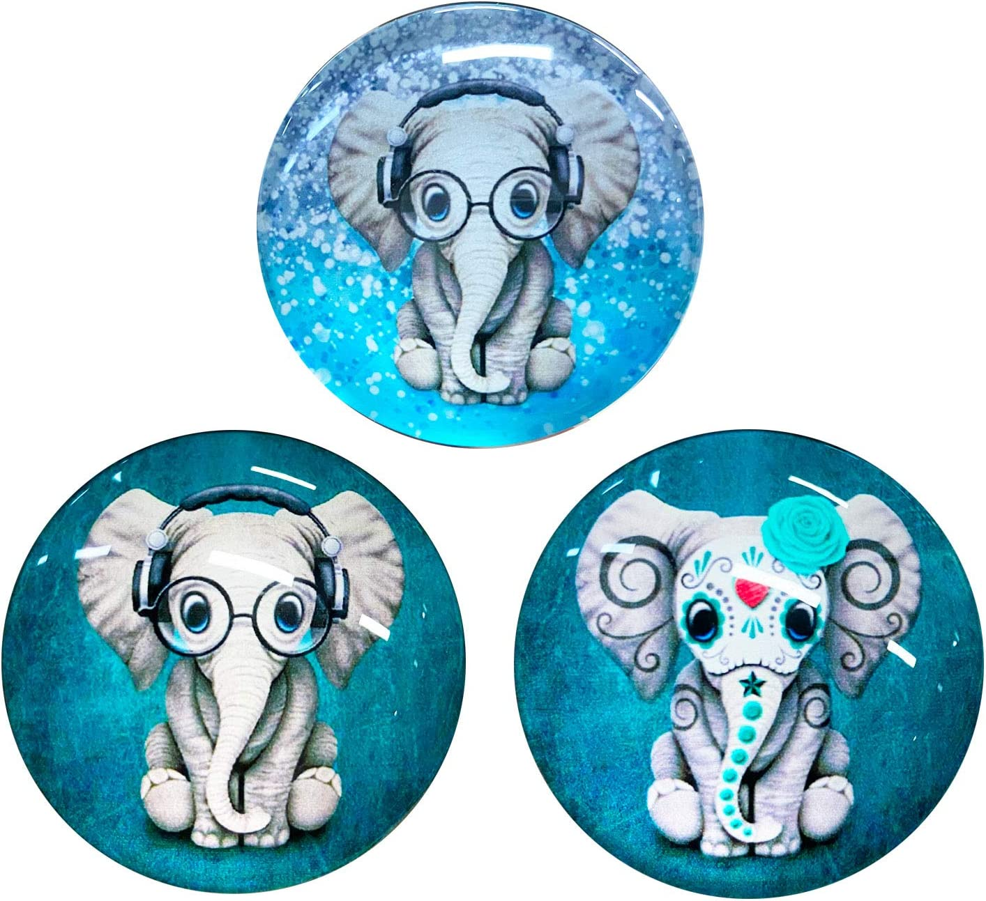 Knocyesnt Cristal Refrigerator Magnets Fridge Max 89% OFF 3D 2021 spring and summer new fo Cute