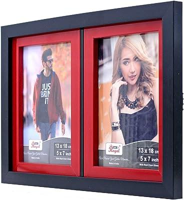 """AJANTA ROYAL® Wall and Pillar Photo Frame 2-Photo : A-183 (2-5""""x7"""" Inch)"""