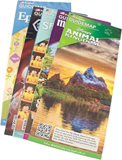 disney world theme park brochures