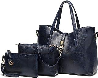 AILLOSA Handtasche Damen Groß Handtaschen Set Für Frauen Umhängetasche Taschen