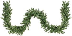"Northlight 9' x 10"" Canadian Pine Artificial Christmas Garland - Unlit"