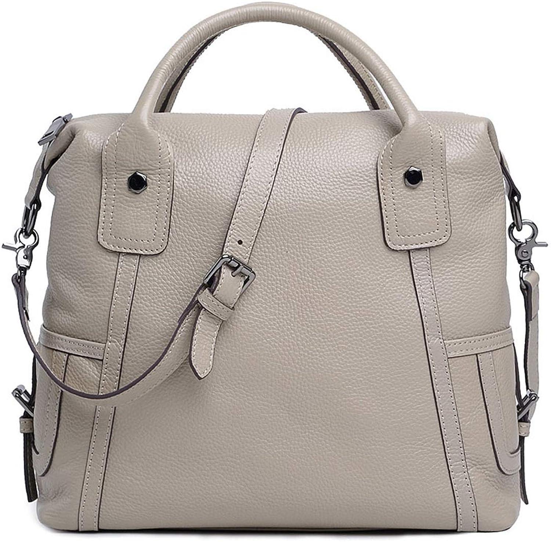 Honneury Echtes Leder Leder Leder Frauen Top Griff Satchel Handtaschen Schultertasche Tote Handtasche Cross Body Bag B07N62QH97 b1a47d