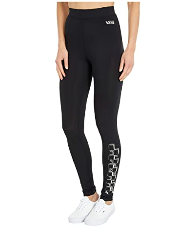 Vans Heart Lizzie Leggings (Black) Women