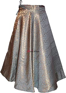 Women's Umbrella Cut Traditional Lehenga/Skirt for Party/Festival Function (All- Colour)