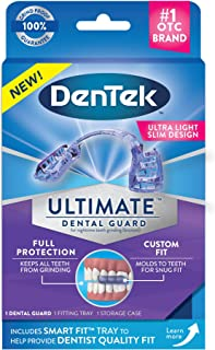 DenTek Ultimate Dental Guard | For Nighttime Teeth Grinding | 1 Dental Guard, Fitting Tray & Storage Case