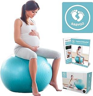 BABYGO Pelota de Pilates Embarazadas, Fitball, Ejercicio,