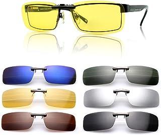 3d71d2afb2 Gafas de sol polarizadas de clip, UV400,para conducción, aire  libre, antirreflejos, para hombre y mujer, de Cosprof