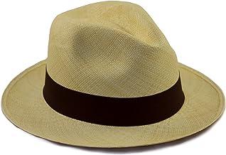 Tumia - Sombrero de Panama Tradicional, Plegable y Hecho a M