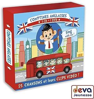 Comptines Anglaises CD+DVD
