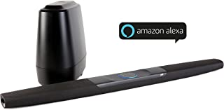 Polk Audio Amazon Alexa Ses Komut Sistemli Televizyon Soundbar Sistemi, Siyah