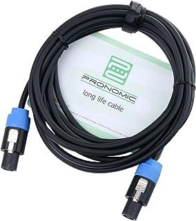 Pronomic Stage BOXJ1-5 cables para altavoces 5m 1,5 mm²