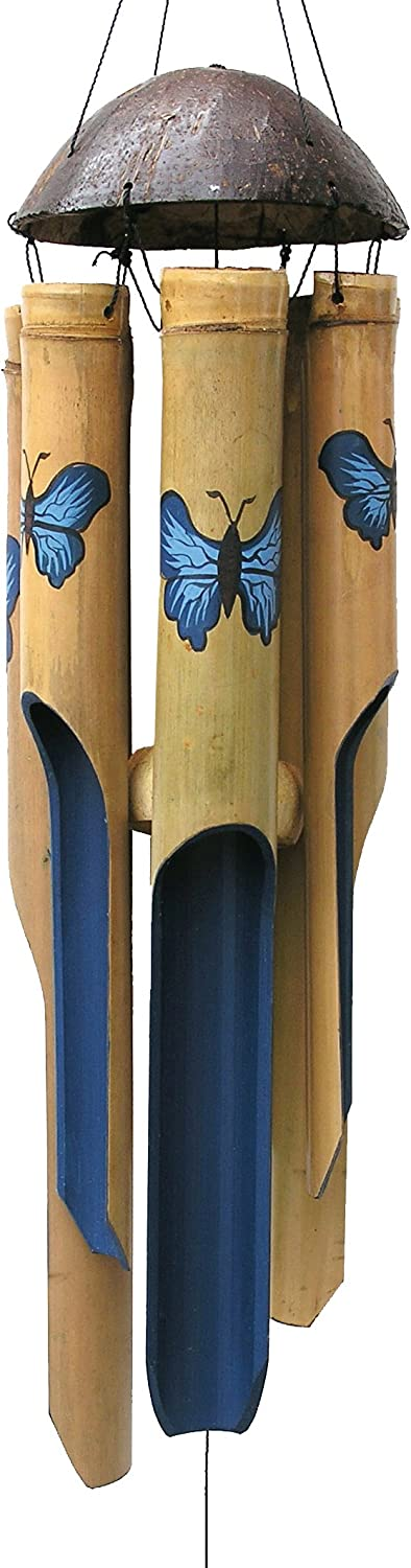 Cohasset Under blast sales Gifts Bamboo Wind Chimes inch Natural 38 Bea online shopping Medium