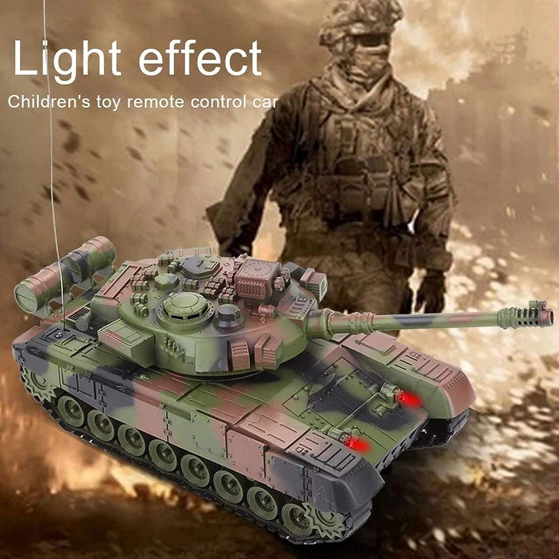 2,4 Ghz Fernbedienung Milit/är Fahrzeug Kampf Kampf Kampfpanzer RC Airsoft Panzer UIGJIOG 1//24 RC Panzer Spielzeug