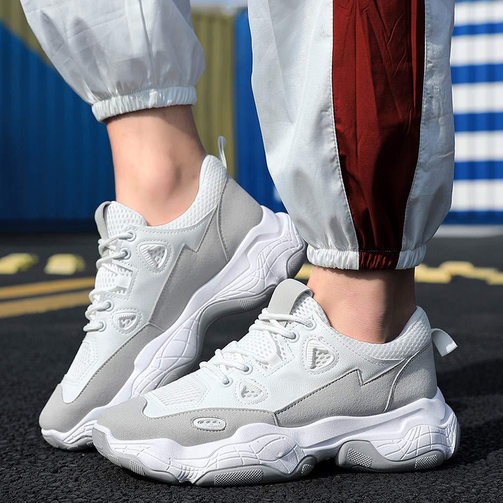 Posional Zapatos para Hombre Correr Zapatos De Viaje Zapatillas De Deporte Zapatos para Mujer Correr Zapatillas Transpirables Tejidas Voladoras Amortiguador De Aire: Amazon.es: Deportes y aire libre