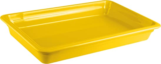 Paderno World Cuisine 44312Y06 Induction Porcelain Hotel Pan Large Yellow