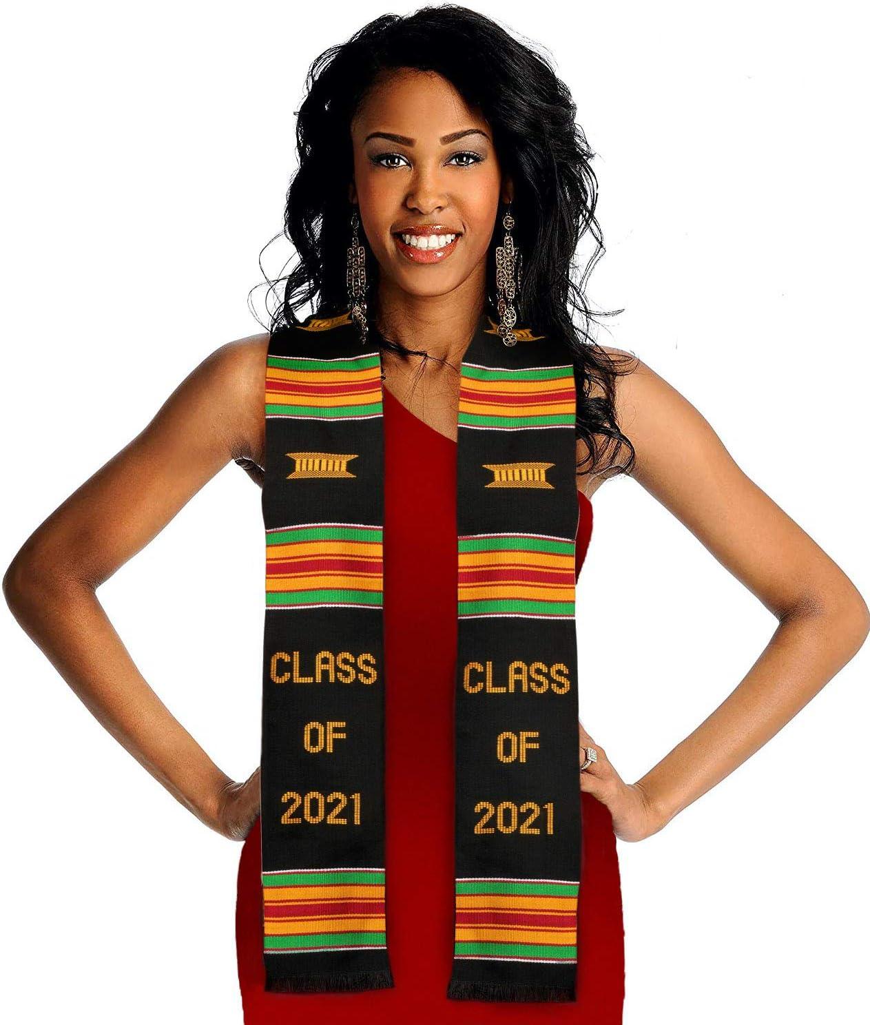 Class of 2021 Kente Graduation Pouch Ultra-Cheap Deals Velvet Stole Includes Super beauty product restock quality top!