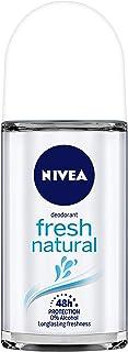 NIVEA Deodorant Roll On, Fresh Natural, 50ml