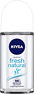 NIVEA Deodorant Roll On, Fresh Natural, 50ml