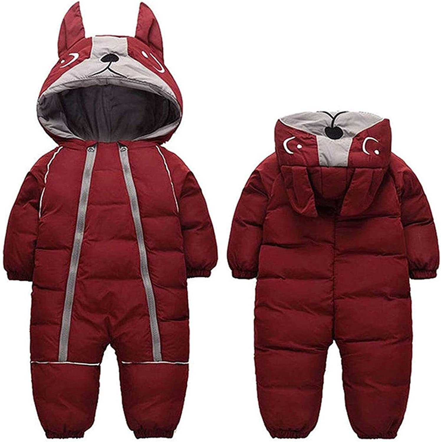 NYKK Outdoor Clothing Genuine Ski Suits Baby Dedication Boy Winter Infant Thic Girl