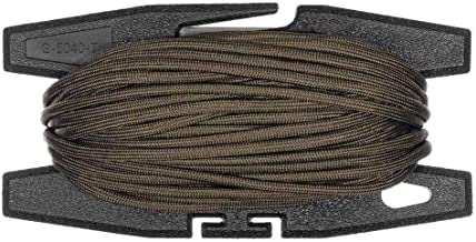 Paracord Spool Tool with 100 Feet of 550 7-Strand Parachute Cord