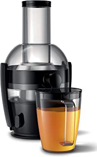 Philips Centrifugeuse HR1856/70 (800 W, capacité 2 litres, technologie QuickClean + réservoir à jus)