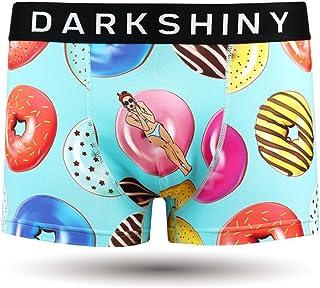[DARK SHINY(ダークシャイニー)] ボクサーパンツ メンズ DOUNTS LADY ドーナツレディ (YLMM06)