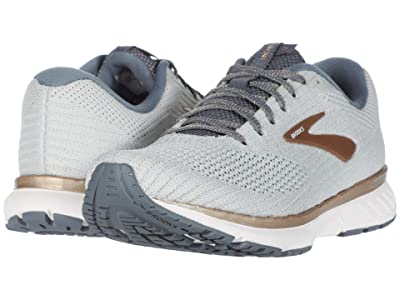 Brooks Revel 3 (Oyster/Flint Stone/Pale Gold) Women