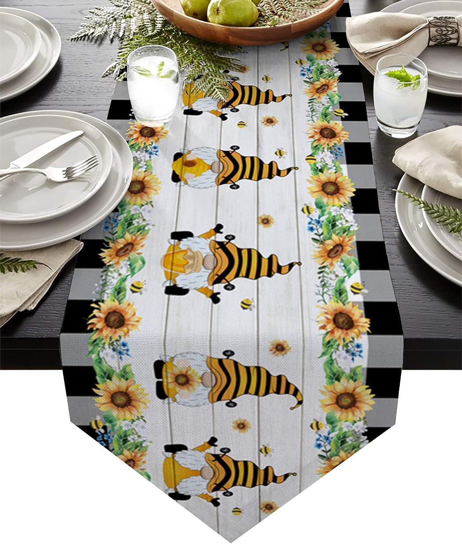 ZL Home TableRunnerDresserScarves Bee Dwarfs Honey Memphis discount Mall