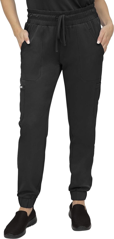 SOULFUL SCRUBS Jogger Pant for Women, 5 Pocket, Midrise Fit - Stylish Medical Scrub Pant 3502 Cora