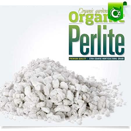 10 Liters Organic Coarse Perlite for All Plants - Horticultural Soil Additive Conditioner Mix - Grow Media - Orchids • Hydroponics - Cz Garden (10 Liters Coarse Horticultural Grade)