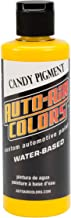 4 oz Airbrush Candy Pigment Paint Color: Yellow