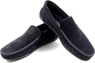 CANNERI Mocassini Uomo - 9593 - Loafer - Driver - Scarpa Classica da Lavoro - Scarpa Slip-on - Scarpa Antiscivolo per Busi...