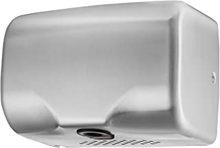 Asialeo Hand Dryer Commercial,High Speed Automatic Electric Hand Dryers for Bathrooms Restrooms,Heavy Duty,Hot/Cold Air,Stainless Steel Cover,Surface Mount,Innovative Compact Design,Easy Installation