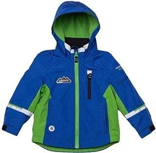 london fog boys fleece lined jacket blue green