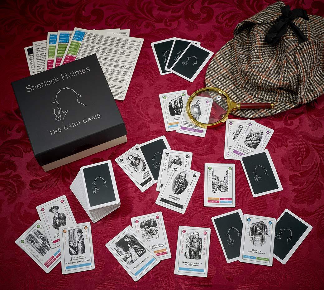 Gibsons Sherlock Holmes el Juego de Cartas: Amazon.es: Juguetes y juegos