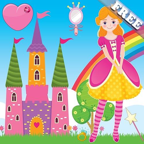 小さな女の子と幼児のためのゲームをプリンセス! 無料