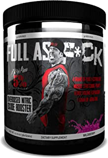 Rich Piana 5% Nutrition Full AS F*CK Overdosed Nitric Oxide Booster (Wildberry)
