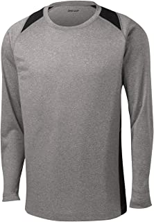 DRI-Equip Long Sleeve Moisture Wicking Athletic Shirts